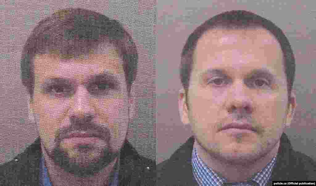 Unit 29155 has been linked to a series of attempted assassination plots and other sabotage across Europe, including the 2018 poisoning of Russian former double agent Sergei Skripal and his daughter in England. Czech police also announced they were seeking two suspected Russian agents carrying passports in the names of Aleksandr Petrov and Ruslan Boshirov. The names match those of the two men Britain blamed for the Skripal poisonings. The suspects have been identified as Aleksandr Mishkin and Anatoly Chepiga, who both reportedly worked for Unit 29155.