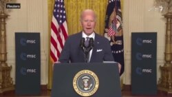 جو بایدن برای پایان جنگ افغانستان بر راه حل سیاسی تاکید کرد