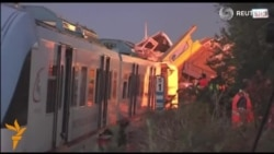Италияда икки поезд тўқнашувида 25 одам ўлди