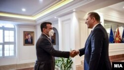Зоран Заев и Оливер Спасовски
