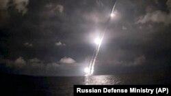 Русия континентара баллистик ракетын җибәрү, архив.