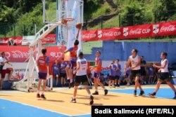 Polufinalno košarkaško takmičenje u kojem su nastupile ekipe iz Ljubovije (Srbija), Bratunca, Srebrenice i Zvornika (BiH)