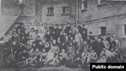 Civili și militari români arestați de bolșevici la Odesa, 1918