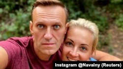 Алексей и Юлия Навальные, 25 сентября 2020 года