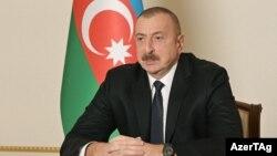 Ադրբեջանի նախագահ Իլհամ Ալիևն ուղերձով դիմում է ժողովրդին, Բաքու, 20-ը նոյեմբերի, 2020թ.