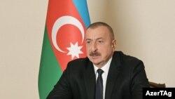 Азербејџанскиот претседател Илхам Алиев