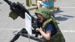 Армия для детей   Крымское утро