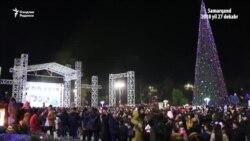 Самарқанд: Янги йил байрами¸ Қорбобо¸ арча