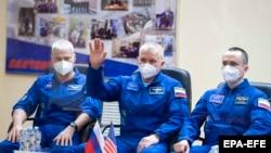 На станцію вирушать астронавт НАСА Марк Ванде Хай і росіяни Олег Новицький та Петро Дубров