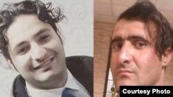محمد ترکمانی (سمت راست)، حسین هاشمی (سمت چپ)، زندانیان سیاسی