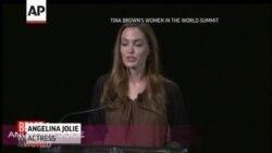 Jolie Salutes Pakistani Teen Malala