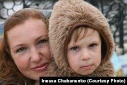 Кирилл Чабаненко и его мама Инесса