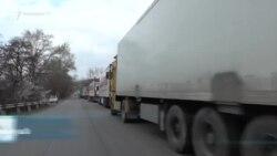 Հայ-վրացական սահմանին մոտ 300 բեռնատար է կուտակվել