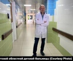 Главный врач Иркутской областной детской больницы Юрий Козлов