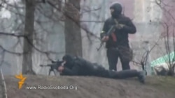 Киев: күч органдары курал колдонууда