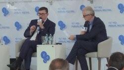 Луценко відповідає на запитання журналіста ВВС