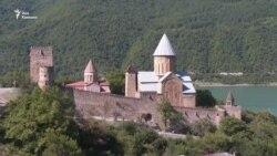 В крепости Ананури начинается реставрация