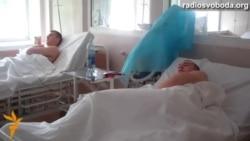 Українські солдати, поранені під Маріуполем, лікуються у Дніпропетровську