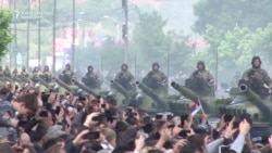 Serbia Holds Military Parade Amid Tensions With Kosovo