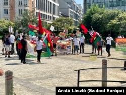 Demonstráció Nigéria északi részének függetlenségéért