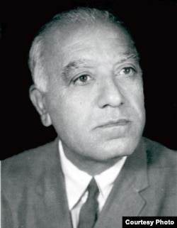 A portrait of Ahmad Ali Kohzad taken in the 1960s.