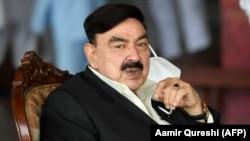 شیخ رشید د پاکستان کورنیو چارو وزیر