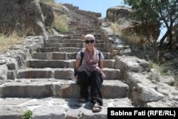 Afyon, Sabina Fati, în cetate, Turcia august 2021