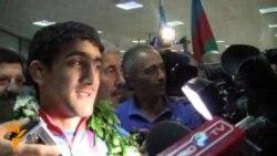Azərbaycan idmançıları London Olimpiyadasından qayıdıblar