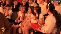 Последний звонок в Украинской гимназии