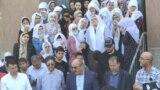 Маросими видоъ бо Назирмад Мӯсоев, ҳунарманди тоҷик