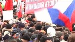 Митинг на проспекте Сахарова: Сергей Удальцов