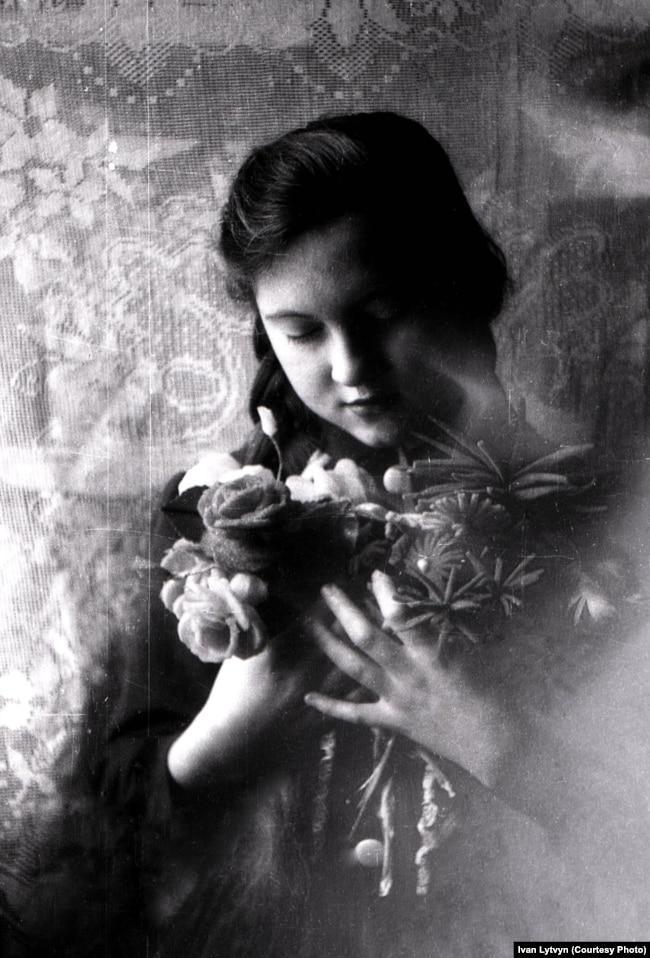 Raisa Lytvyn, the photographer's daughter