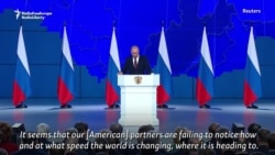 Putin Warns U.S. Not To Discount Russia's Weapons Capabilities