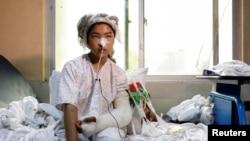 زخمی حمله بر مکتب سید الشهدا در غرب کابل که داعش مسوولیت آن را پذیرفته بود