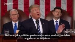 Trump u Kongresu: Za snažniju Ameriku