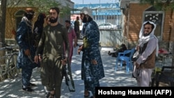 جنگجویان طالبان در شهر کابل