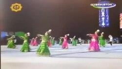 "Каримов танцует хорезмский танец ""Лязги"" в День независимости Узбекистана"