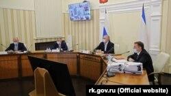 Заседание российского правительства Крыма 23 марта 2021 года