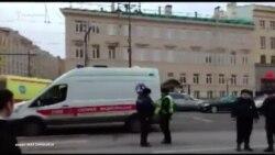 В результате взрыва в метро Санкт-Петербурга погибло 10 человек (видео)