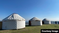Узген, Ӯш, Қирғизистон. 22-юми апрели 2021.