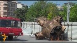 Ալեքսանդր Մակեդոնացու արձանը՝ Սկոպյեում