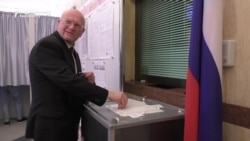 Russians In Azerbaijan Vote In Presidential Election