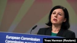 Zëvendëspresidentja e Komisionit Evropian, Vera Jourova.