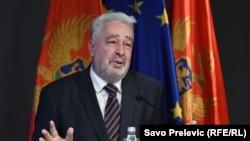 Здравко Кривокапич, назначенный глава правительства Черногории. Подгорица, 27 ноября 2020 года