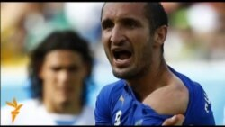 Уругвайцы не считают, что Суарес укусил защитника сборной Италии