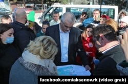 Сергій Аксенов у Форосі, 3 березня 2021 року