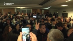 Antigovernment Protesters Invade Serbian State TV Station
