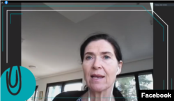 """Германска амбасадорка во Северна Македонија, Анке Џисела Холсштајн на конференција """"Да ги поврземе поврзувачите"""""""