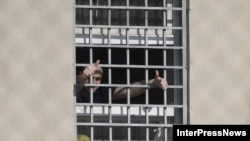 ნიკა მელია რუსთავის მე-12 სასჯელაღსრულების დაწესებულებაში