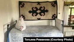 Дом-музей Г.И. Чорос-Гуркина, с. Анос. Интерьер жилой комнаты
